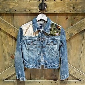 Vintage ARTSY Jean Jacket